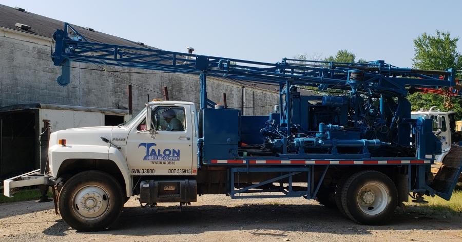 Talon Drilling Company Equipment Mobile B-59